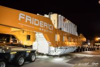 Transformatortransport nach Frankreich
