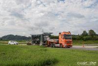 Die ersten Elemente der ASTRA-Bridge treffen am Lagerplatz ein